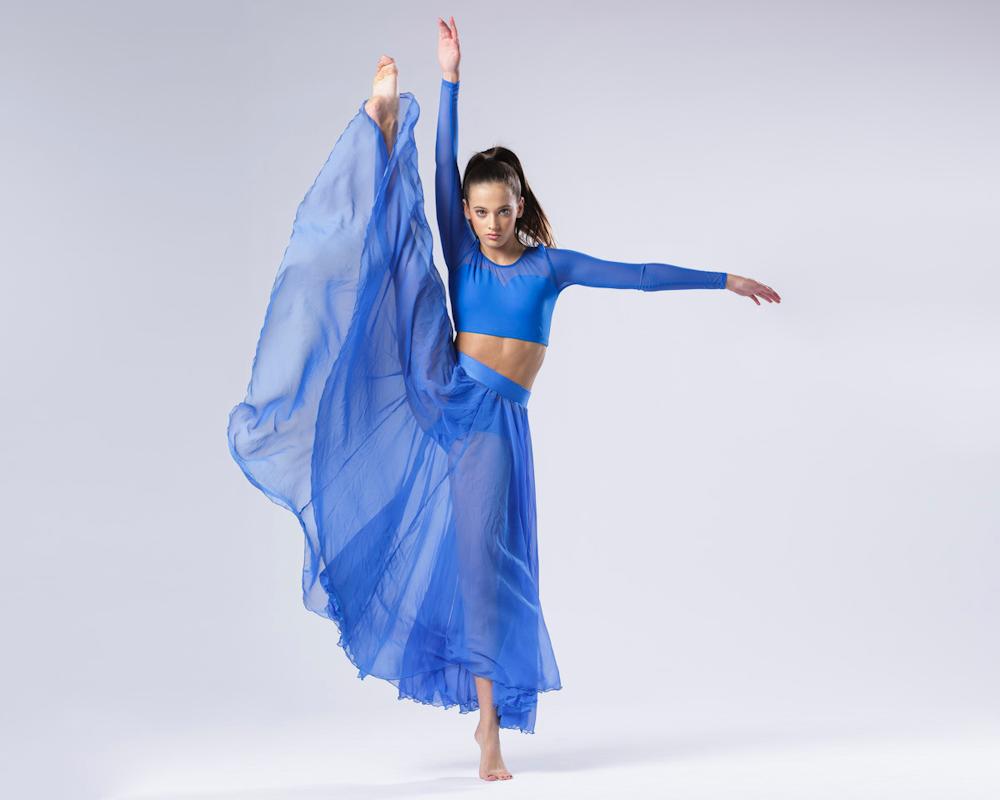 dancer blue