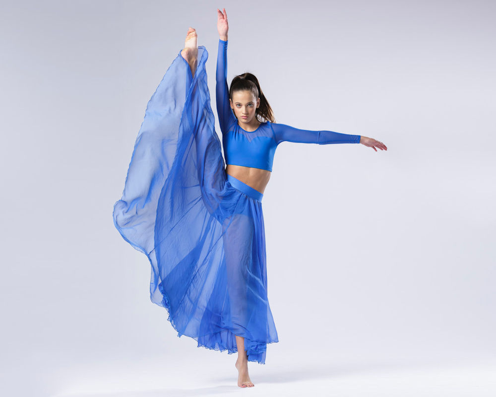 dancer blue